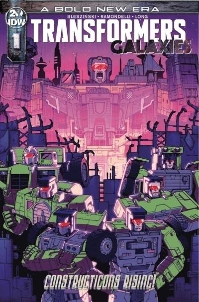 Transformers Galaxies Comic Book
