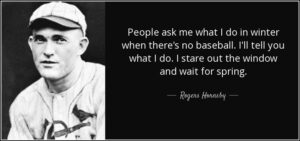 Rogers Hornsby quote
