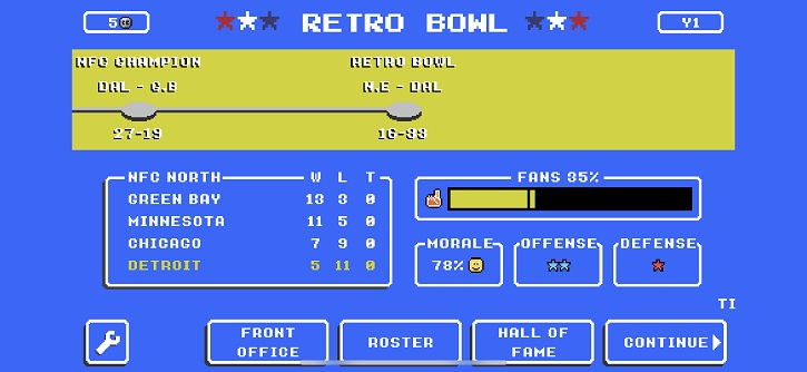 Retro Bowl Review: The sports fix you need right now - The Retro ...