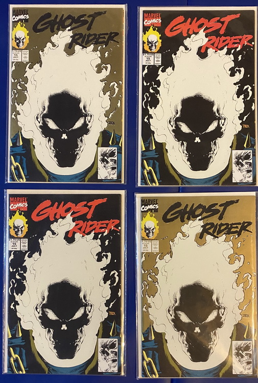 Ghost Rider 15 Covers