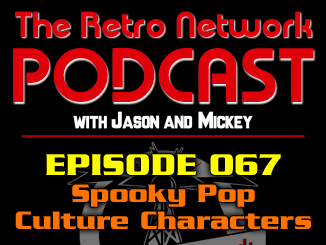 TRN Podcast 067: Spooky Pop Culture Characters
