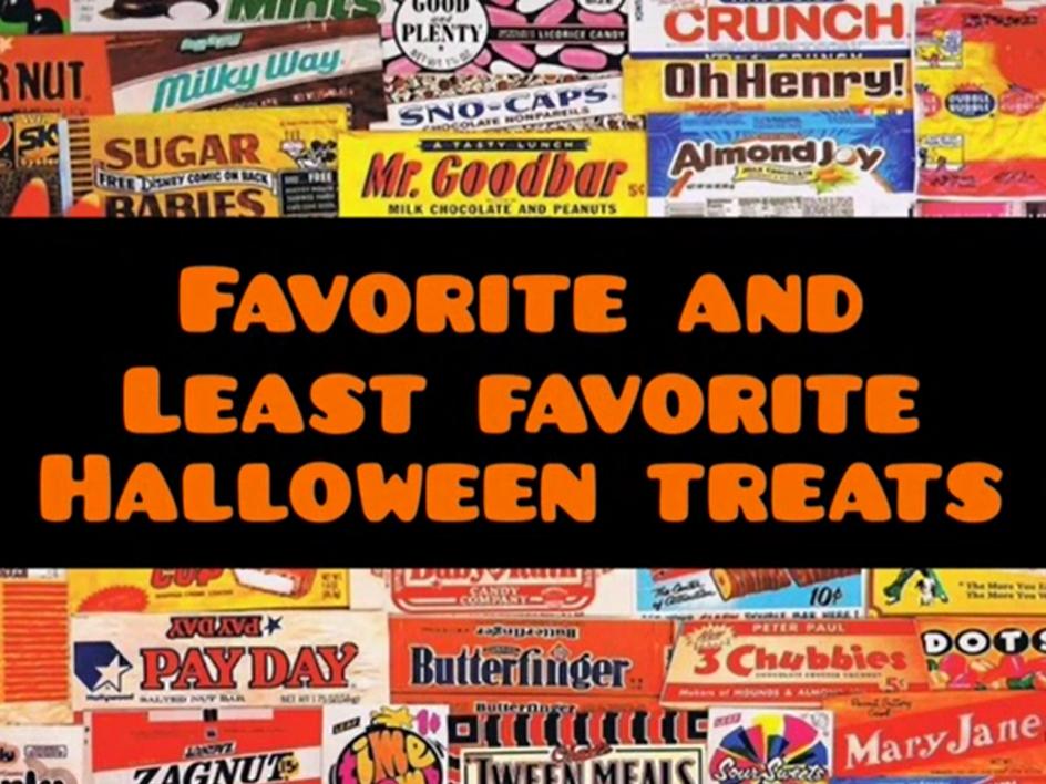 VIDCAST: Favorite Halloween Treats