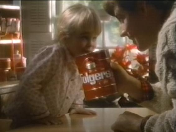 Retro Commercials: Folgers 'Peter Comes Home'