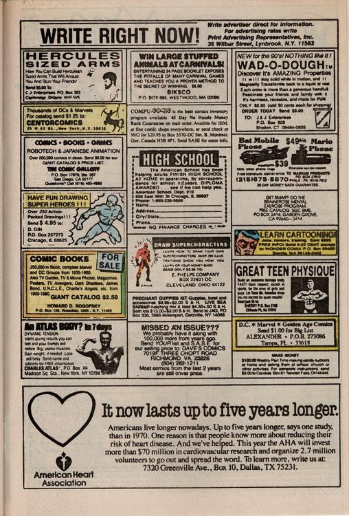 Robin 1 Comic Ads